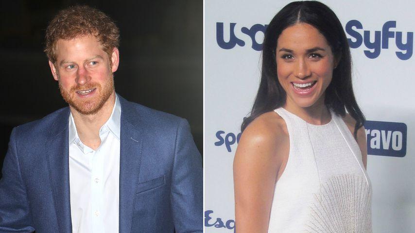 Prinz Harry & Meghan: Dates immer hinter geschlossenen Türen