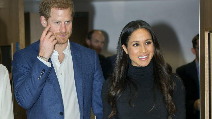 Prinz Harry und Meghan Markle auf einer Veranstaltung an der Nottingham Academy