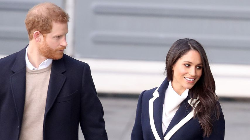Prinz Harry und Meghan Markle in Birmingham 2018
