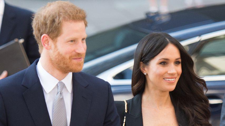 Für Lady Di: Blumen-Tribut bei Meghan & Harrys Hochzeit