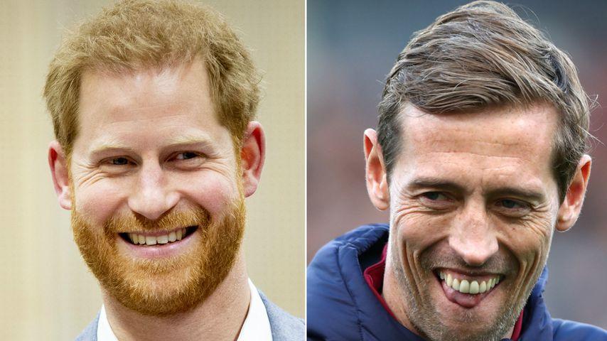 Vor Meghan: Harry wollte Flirt-Tipps von Kicker Peter Crouch