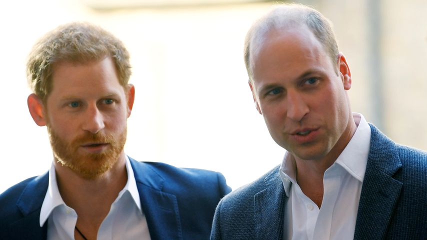 Prinz Harry und Prinz William, 2018