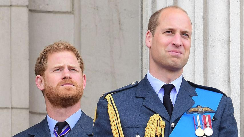 Prinz Harry und Prinz William im Juli 2018