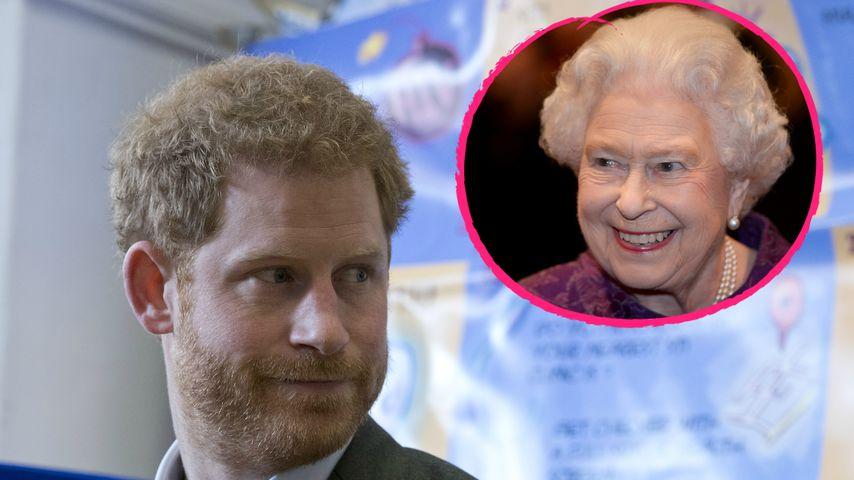 Veto-Recht! Verbietet die Queen Prinz Harry die Hochzeit?