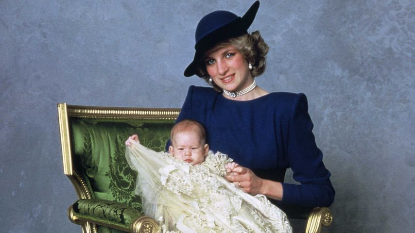 Prinz Harrys Taufbild vom 21. Dezember 1984