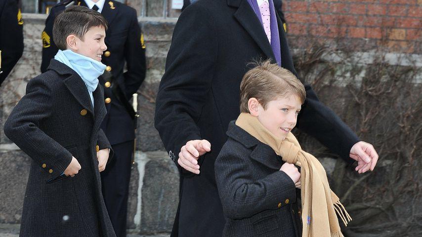 Prinz Joachim und Prinz Nikolai in Kopenhagen 2011