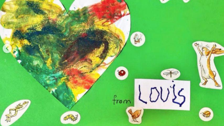 Prinz Louis' Muttertagskarte für Prinzessin Diana