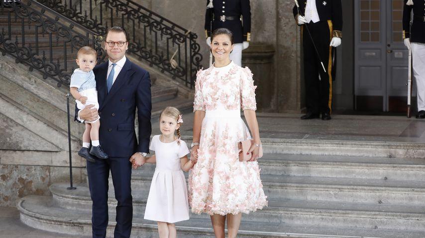 Prinz Oscar, Prinz Daniel, Prinzessin Estelle und Kronprinzessin Victoria von Schweden 2017