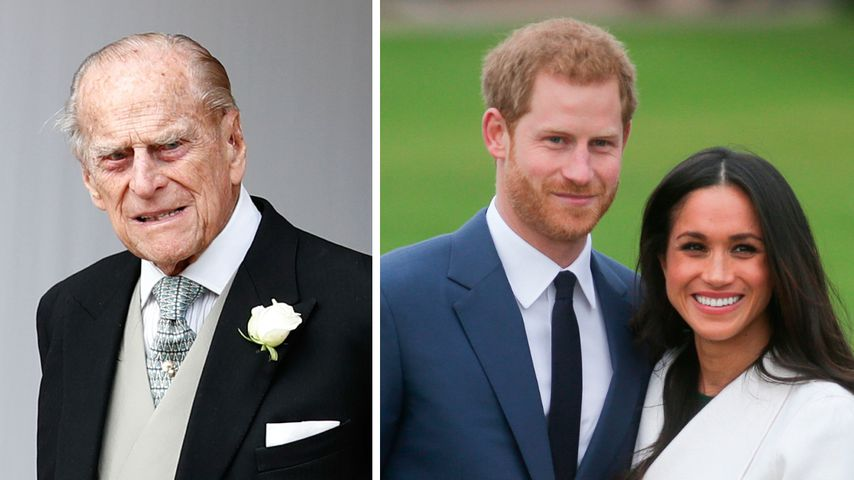 Wegen Prinz Philip: Meghan und Harry hatten Interview-Deal
