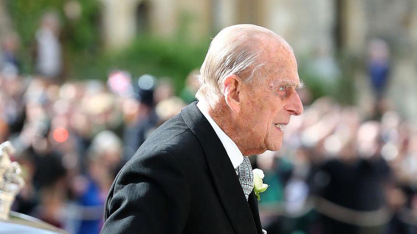 Prinz Philip bei Eugenie und Jacks Hochzeit