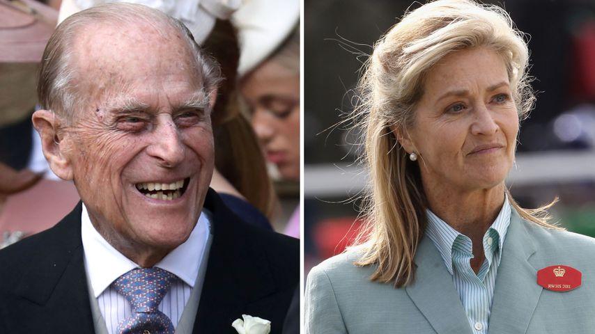 Freundschaft mit Prinz Philip (†): Wer ist Penny Knatchbull?