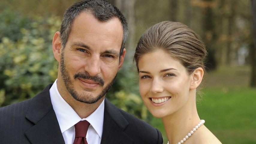 Prinz Rahim Aga Khan und Prinzessin Salwa