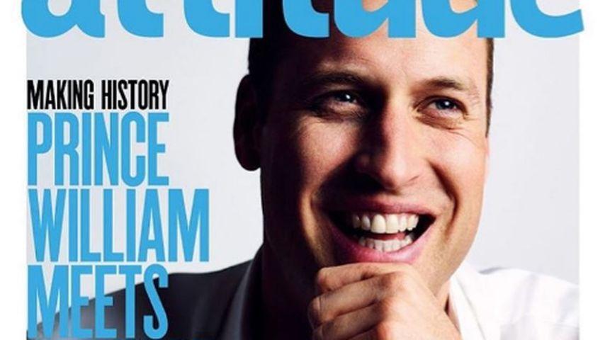 Wahnsinn! Prinz William ziert Cover eines Schwulen-Magazins