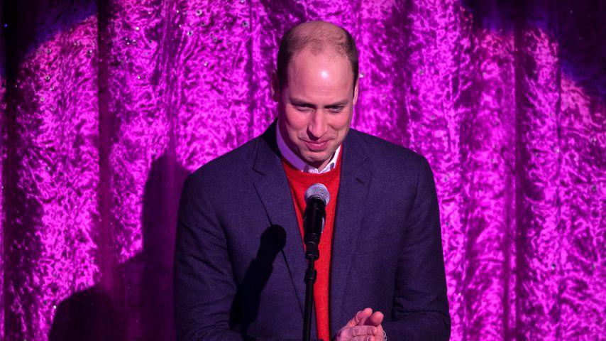 Prinz William im Dezember 2020