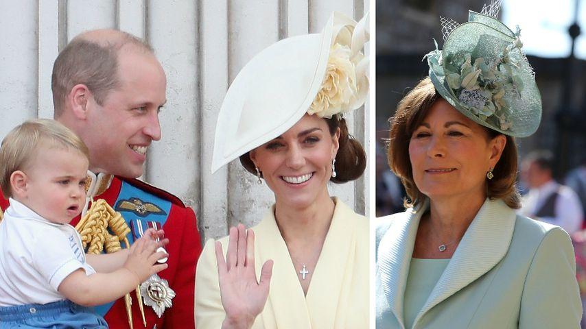 Prinzessin Charlotte + Prinz George: Weihnachtsgottesdienst in Sandringham
