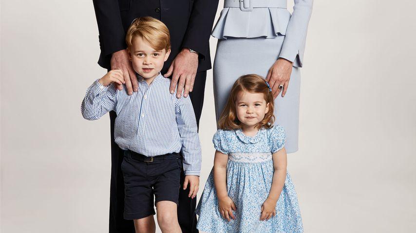 Prinz William, Herzogin Kate und ihre Kinder Prinz George und Prinzessin Charlotte