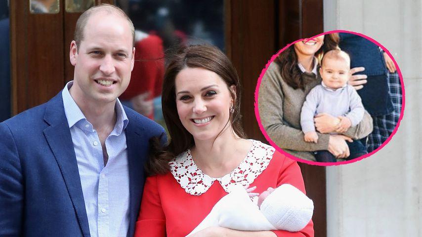 Großes Baby: So sehr hat sich Prinz Louis schon verändert