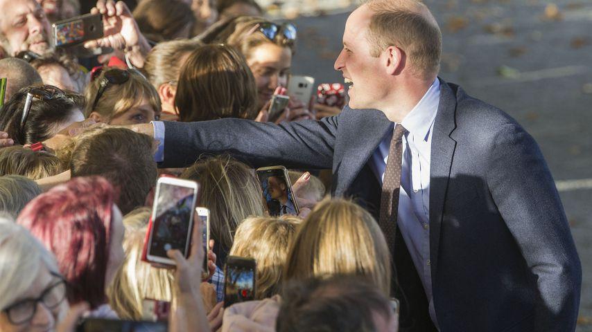 Prinz William in Christchurch, April 2019