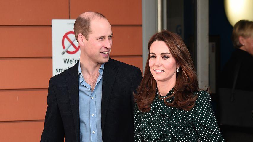 Prinz William und Herzogin Kate, Dezember 2018