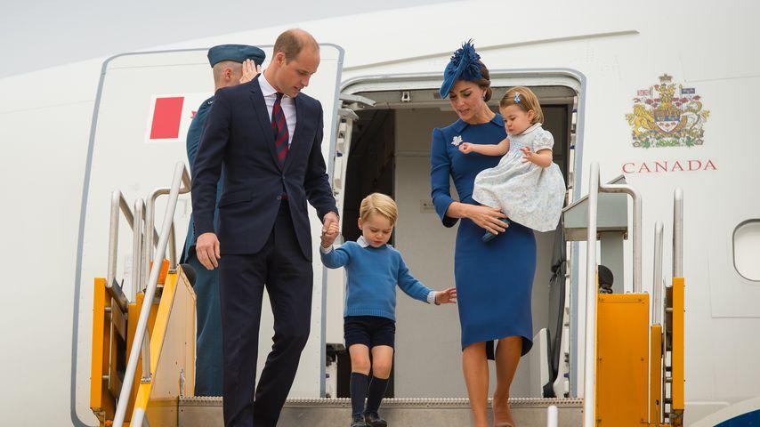 Prinz William, Prinz George, Herzogin Kate und Prinzessin Charlotte, 2016