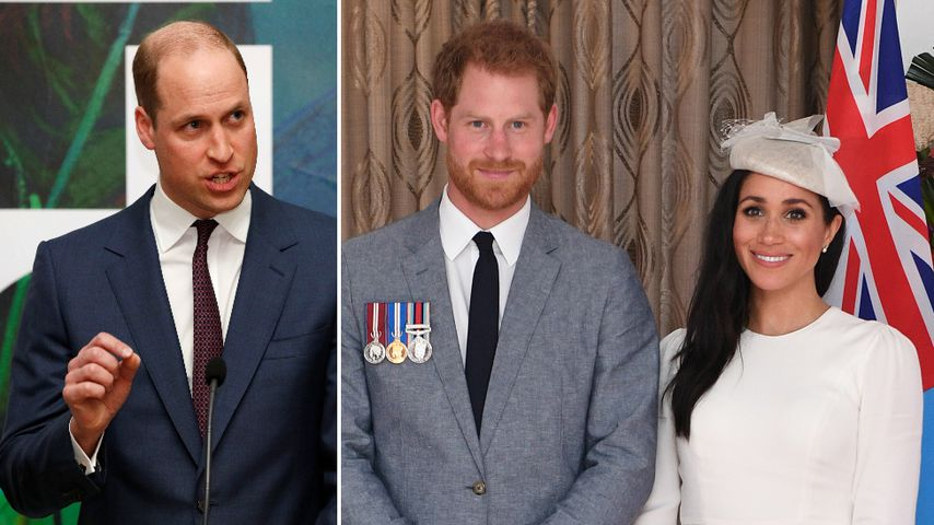 Das sagt Prinz William zu Harry und Meghans Enthüllungsbuch