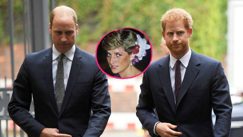 So werden William & Harry Dianas 22. Todestag verbringen