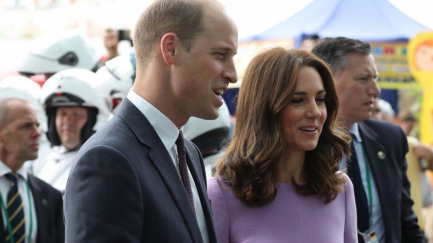Prinz William und Herzogin Kate, Mitglieder der britischen Königsfamilie