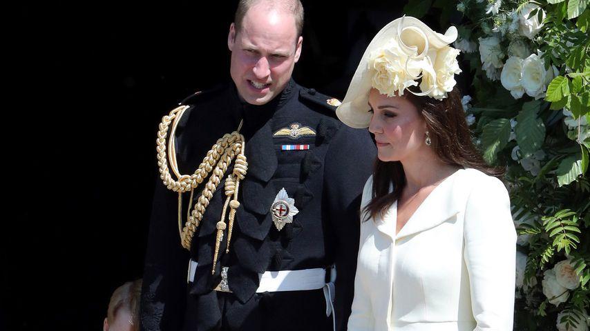Prinz William und Herzogin Kate auf Prinz Harry und Herzogin Meghans Hochzeit 2018