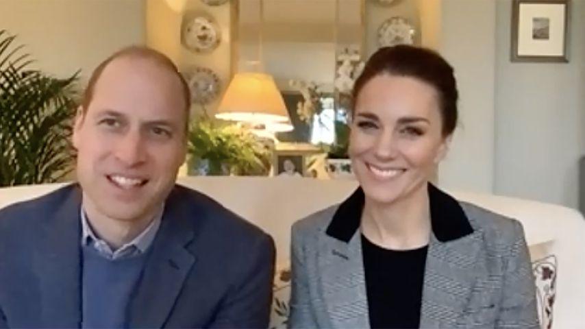 Prinz William und Herzogin Kate, Januar 2021