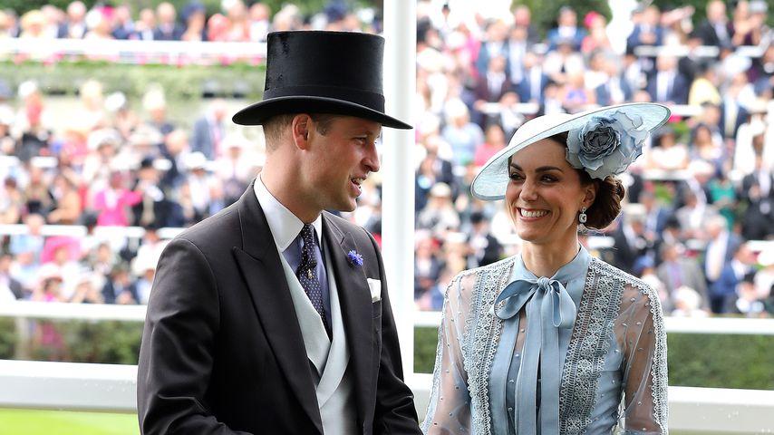 Prinz William und Herzogin Kate beim Ascot-Pferderennen 2019