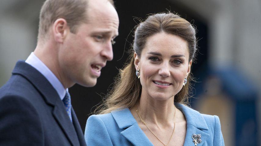 Prinz William und Herzogin Kate bei einem Schottlandbesuch im Mai 2021