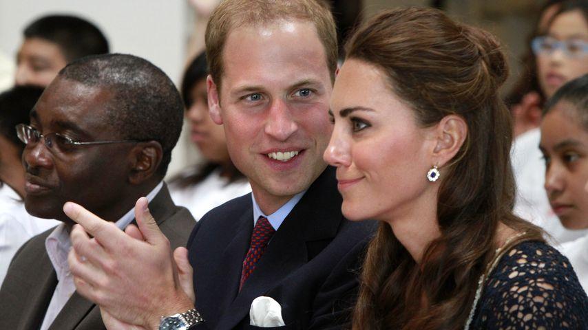 Prinz William und Herzogin Kate im Juli 2011