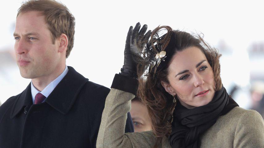 Prinz William und Herzogin Kate im Februar 2011