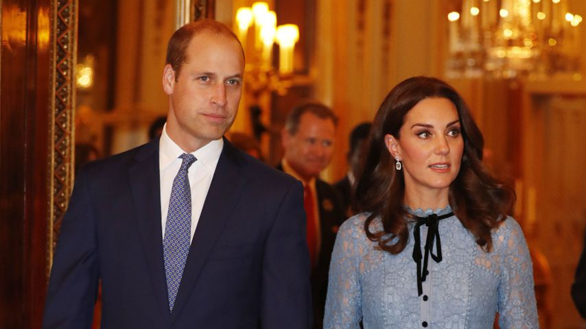 Prinz William und Herzogin Kate beim World Mental Health Day in London