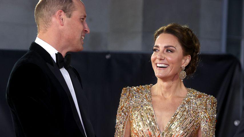 """Prinz William und Herzogin Kate bei der Weltpremiere von """"No Time To Die"""""""