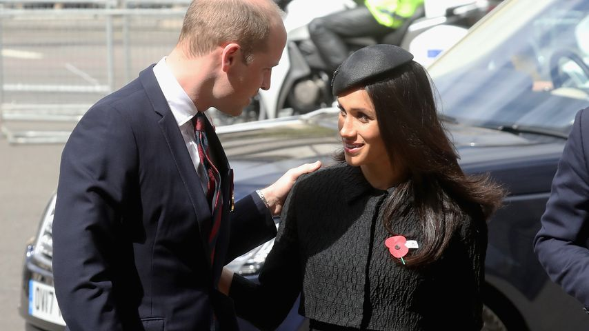Prinz William und Meghan in London im April 2018