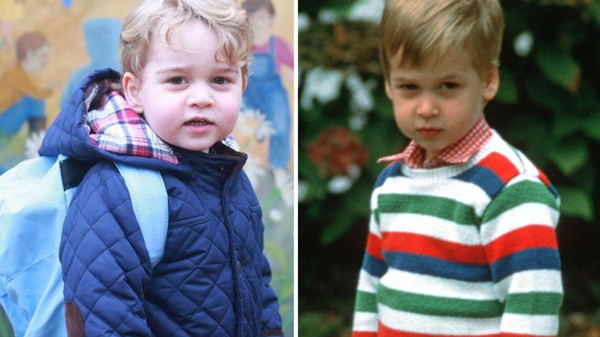 Kindergarten-Prinzen: George sieht aus wie Papa William