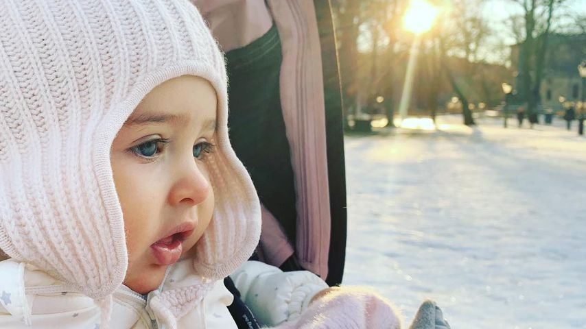 Prinzessin Adrienne von Schweden im Winter 2018