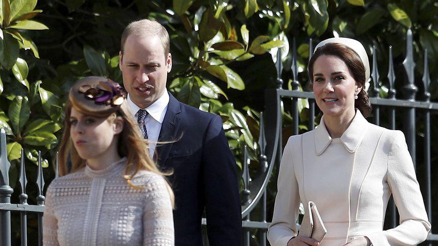 Prinzessin Beatrice, Prinz William und Herzogin Kate