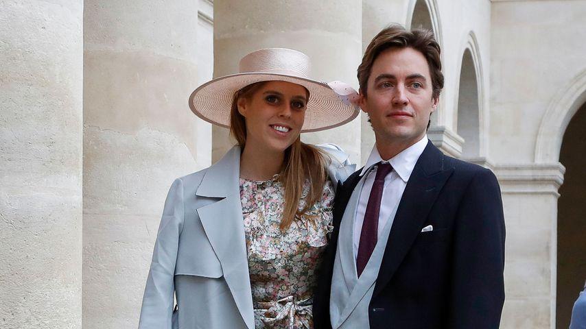 Prinzessin Beatrice und Edoardo Mapelli Mozzi im Oktober 2019