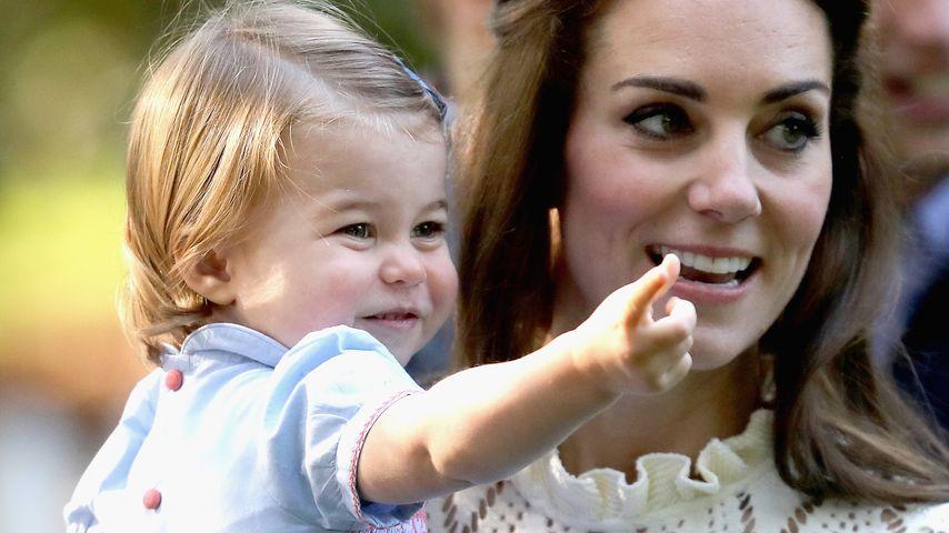 1. öffentliche Worte: Prinzessin Charlotte in Plauderlaune