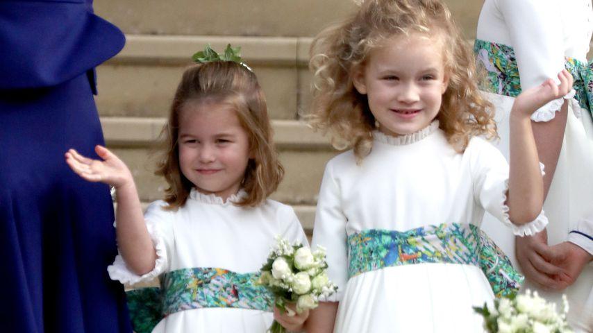 Prinzessin Charlotte und Maud Windsor bei der Hochzeit von Prinzessin Eugenie und Jack Brooksbank