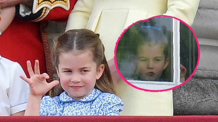 Charlotte hatte beim Trooping the Colour Frisuren-Wandel!