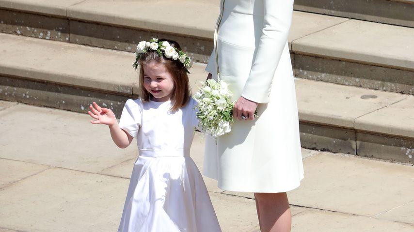 Prinzessin Charlotte und Herzogin Kate bei Harry und Meghans Hochzeit