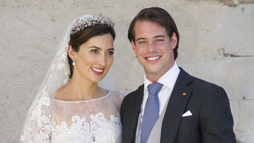 Prinzessin Claire von luxemburg und Prinz Félix von Luxemburg 2013 in Frankreich