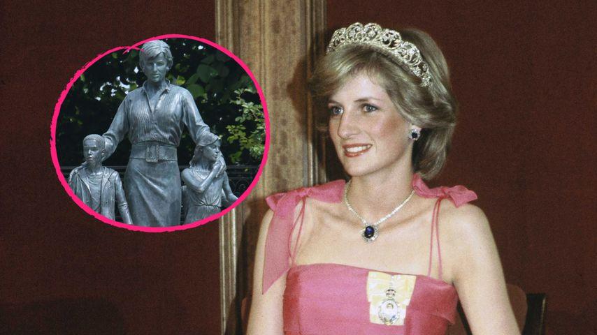 Zum 24. Todestag: Diana-Statue extra für Royal-Fans offen
