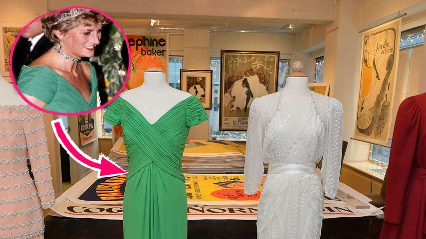 Traurig! Prinzessin Dianas Kleider unterm Hammer