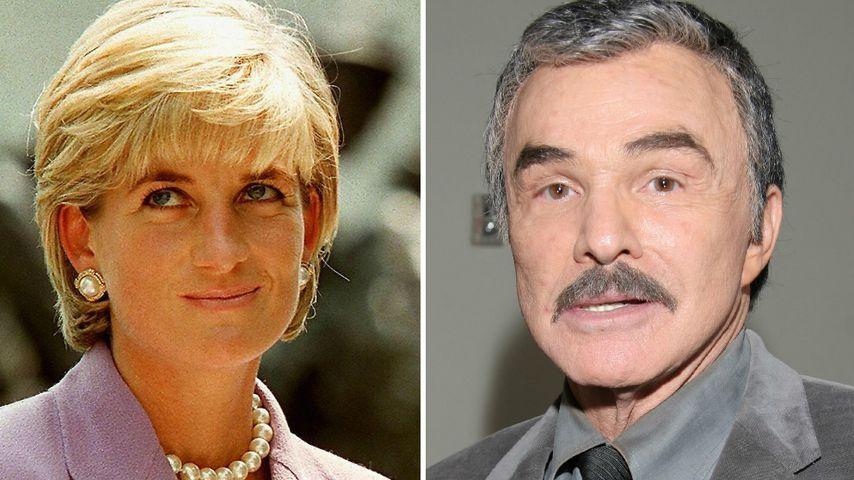 Prinzessin Diana schickte Burt Reynolds einen Dankesbrief