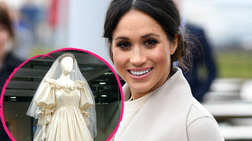 Meghan Markles Kleid: Jetzt spricht Dianas Dress-Designer!