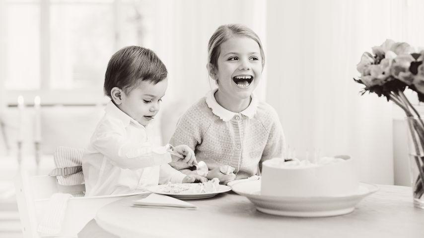Frecher Torten-Spaß! Prinzessin Estelle wird heute stolze 6